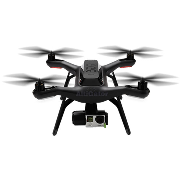 SOLO 3DRobotics and 3-axis gimbal for GoPro